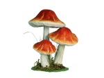 Decorative mushrooms in many...