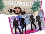 Great disco and Hollywood decoration...