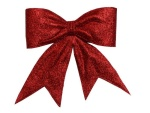 The decorative bows always belong to...