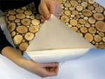 Self-adhesive foil for decorating and...