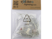 LED LV ExString Light 24 V1 transparent, L 1,5m, 15 LED...