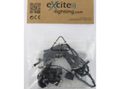 LED LV ExString Light 24 V1 schwarz, L 1,5m, 15 LED...