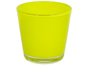 Windlicht Color 7cm lime
