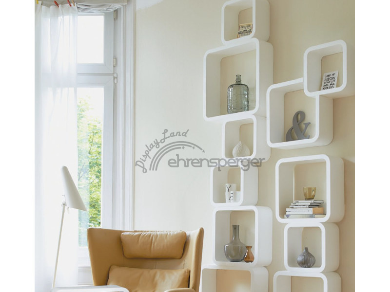 podestset wandregal styropor 3 tlg sfr 25 00. Black Bedroom Furniture Sets. Home Design Ideas