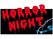 Wanddeko Horror Night 30 x 55cm