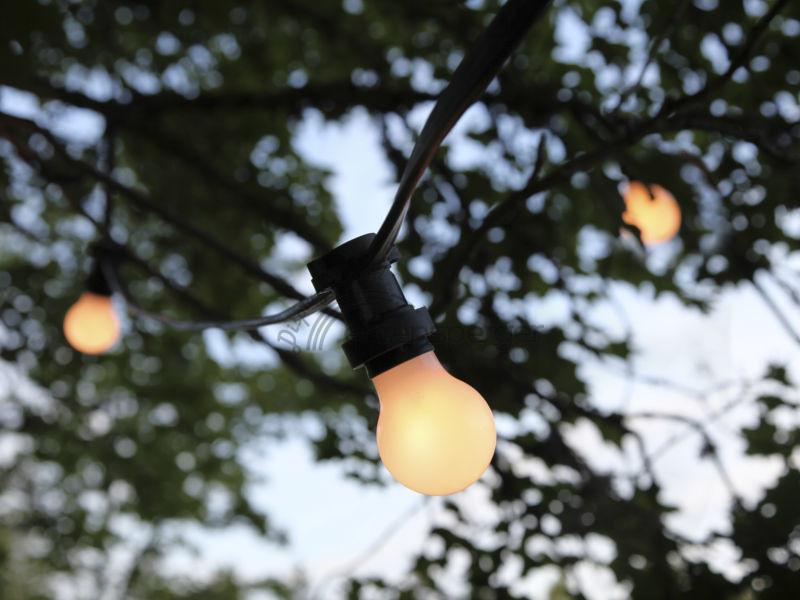 Lichterkette Quot Partylight Quot E27 Outdoor Ohne Birnen Sfr 79