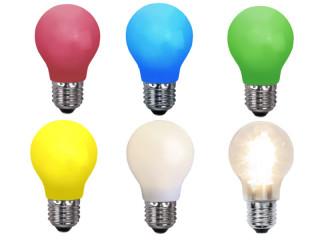 LED Glühbirne E27 Versch. Farben