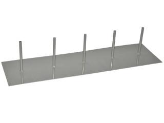 standplatte gerade f r 5 birkenst mme 65 x 18cm sfr 74 50. Black Bedroom Furniture Sets. Home Design Ideas