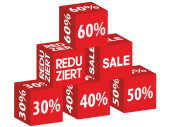Sale-Würfel SALE
