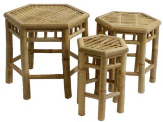 Bambus Ablagetisch 3er Set Beim Displayland Sfr 89 00