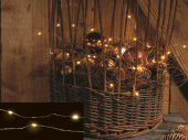 Angelhair String Light 10m 100 LEDs warmweiss 2.4W inkl....