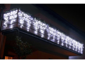 LED LV Ice Light 57 LEDs v2 kaltweiss, H 30-50cm, B 1,5m...
