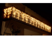 LED LV Ice Light 57 LEDs v2 warmweiss, H 30-50cm, B 1,5m...