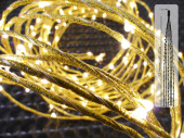 LED LV ExBranch gold 150 warmweiss, L 1,5m 150 LEDs 10...