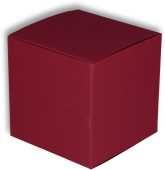 Colour Cube L bordeaux 140 x 140 x 140mm