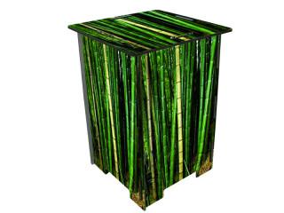 photohocker bambus gr n sfr 39 50. Black Bedroom Furniture Sets. Home Design Ideas