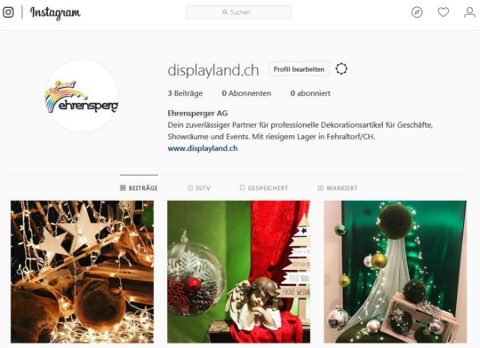 Displayland Instagram