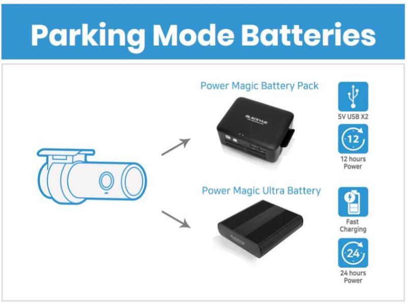 BlackVue Zubehoer Batterypack
